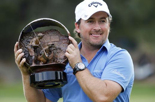 Graeme McDowell was yesterday named joint-European Tour Player of the Year.