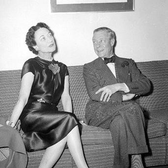 King Edward VIII and his lover, Wallis Simpson