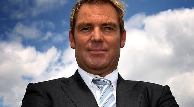 With calls growing for his international recall, even at 41, Australian cricket fans will be disappointed to see that Shane Warne arrived in London yesterday. Photo: Getty Images