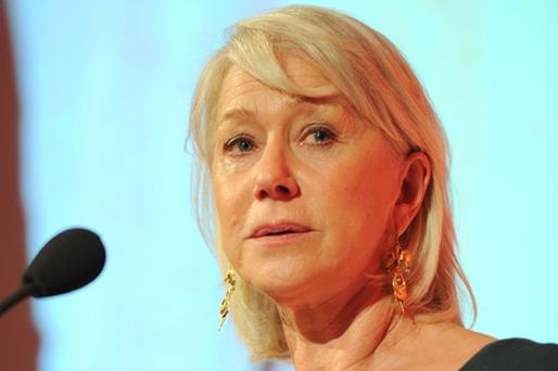 Dame Helen Mirren has lambasted Hollywood for its treatment of older women. Photo: Getty Images