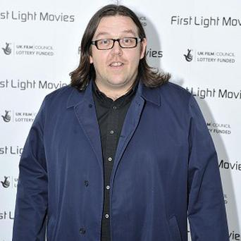 Nick Frost hoped for sunnier climes filming in the US