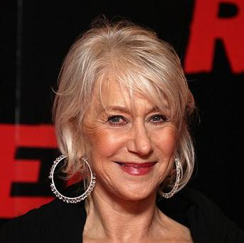 Dame Helen Mirren told Hollywood chiefs about her family