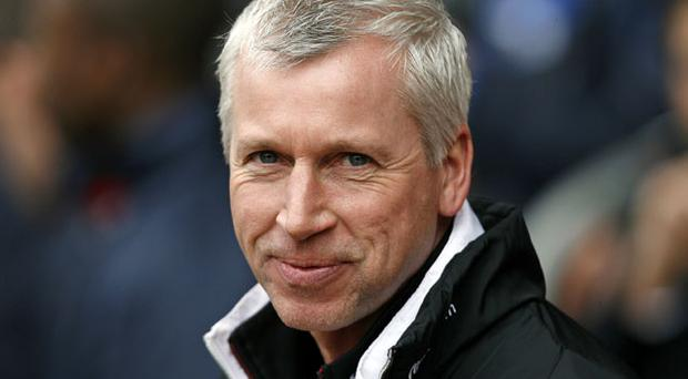 Newcastle Manager Alan Pardew. Photo: Getty Images