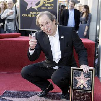 Composer Hans Zimmer was given a star on the Walk of Fame