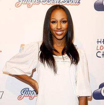 Alexandra Burke is in the running to be the face of Dolce & Gabbana, it's been reported