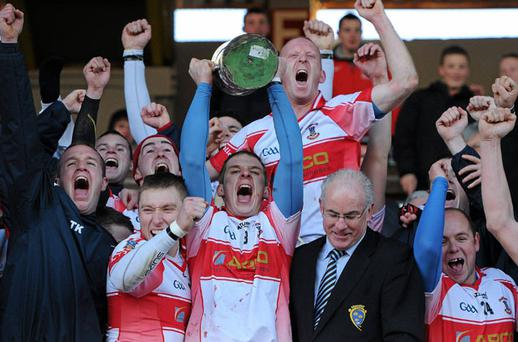 De La Salle, Munster champions for the second time in three years. Photo: Sportsfile