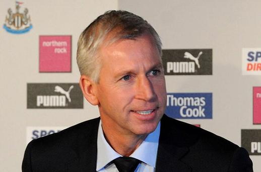 Alan Pardew. Photo: PA
