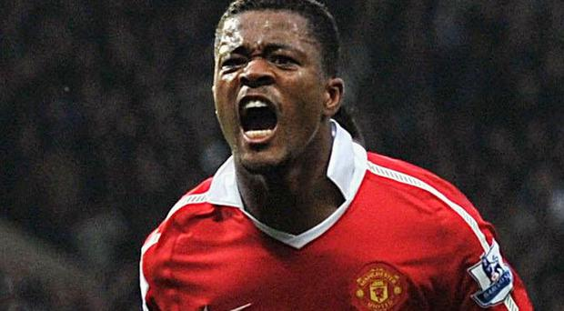 Patrice Evra has branded Arsenal a