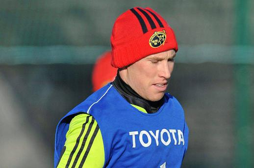 Peter Stringer will be gutted to miss out after his recent good form. Photo: Sportsfile