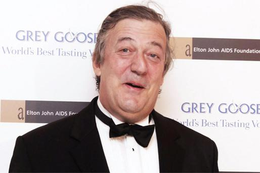 MUCH-LOVED: The general public, it seems, cannot get enough of Stephen Fry, unlike the critics. Photo: PA