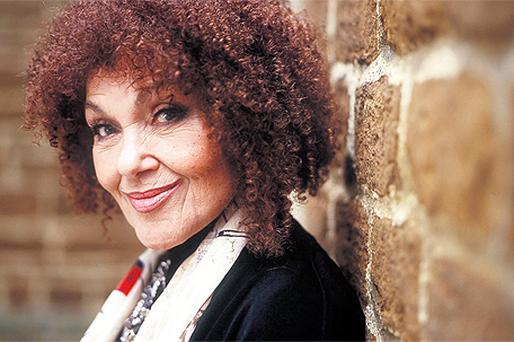 HE ENTERTAINER: Cleo Laine took to the stage only hours after her husband's death, not wanting to let the audience down. 'If the boot had been on the other foot, he'd have carried on,' she says
