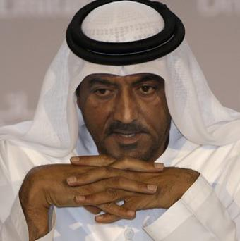 Sheikh Ahmed bin Saeed Al Maktoum has been named as chairman of Dubai World (AP)