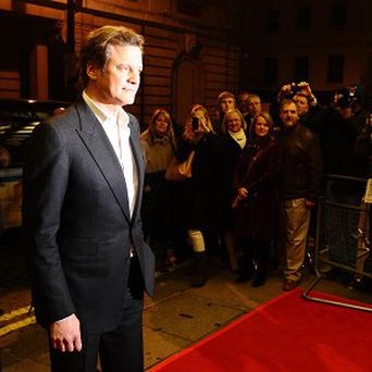 Colin Firth won the best actor award