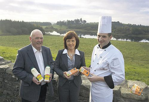 Tom and Sheila Butler's dairy business uses traditional methods, such as the wooden churn, to create a distinctive flavour in its products