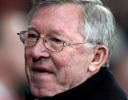 Manchester United manager Sir Alex Ferguson. Photo: Getty Images