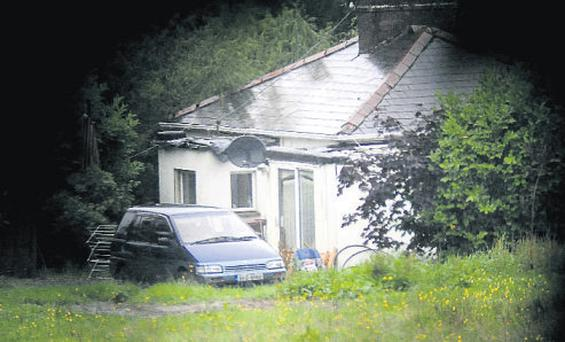 The house where Vera and Brian McGrath lived in Lower Coole, Co Westmeath