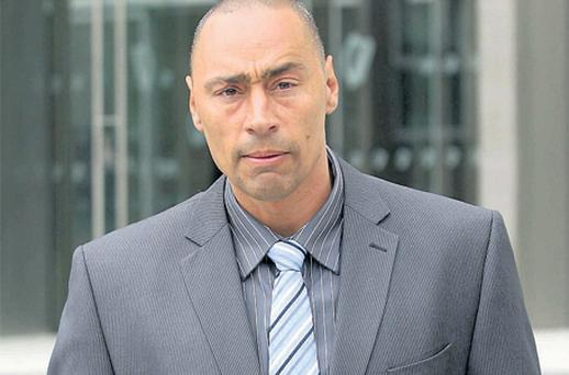 Colin Pinder was yesterday sentenced to nine years for the manslaughter of his fiancee Veronica McGrath's father