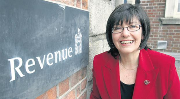 The Revenue Commissioners under chairman Josephine Feehily is set to introduce the new mandatory reporting regime, which requires companies to disclose any transactions that help to avoid tax, next year. Photo: Tom Burke
