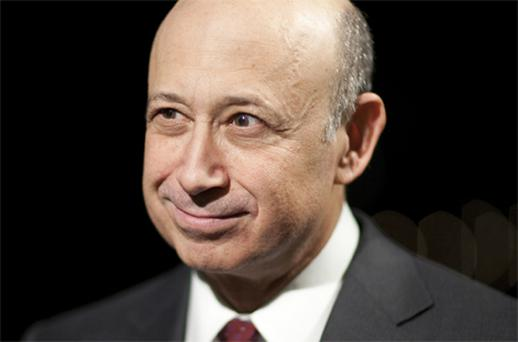Lloyd Blankfein, chairman and chief executive officer of Goldman Sachs. Photo: Bloomberg News