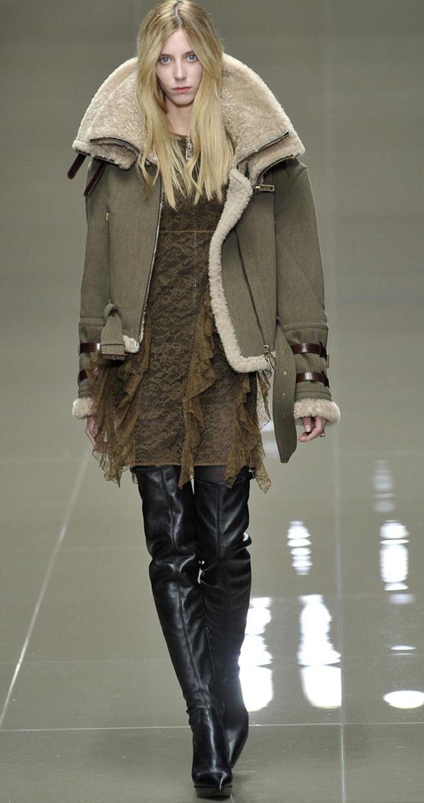 The Burberry aviator jacket. Photo: Getty Images