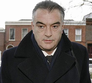 Ian Bailey pictured arriving at the High Court in Dublin today. Photo: PA