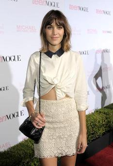 LOS ANGELES, CA - OCTOBER 01: Actress Alexa Chung arrives at The 8th Annual Teen Vogue Young Hollywood Party at Paramount Studios on October 1, 2010 in Los Angeles, California. (Photo by Charley Gallay/Getty Images For Teen Vogue)