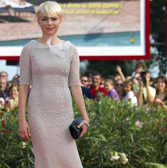 Michelle Williams dazzled on the red carpet in Venice
