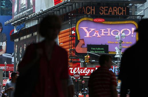 Yahoo: cutting costs. Photo: Getty Images