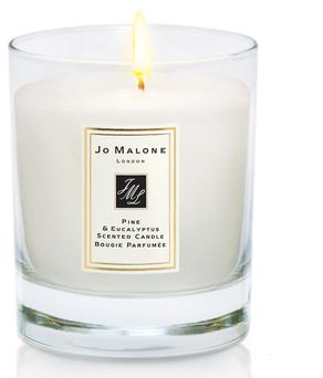 Give the gift of light with this festive pine and eucalyptus candle - €50 from Jo Malone