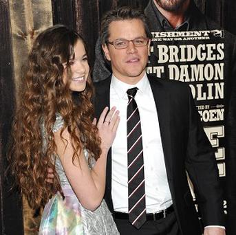 Matt Damon took special care to make sure he didn't hurt young co-starHailee Steinfeld