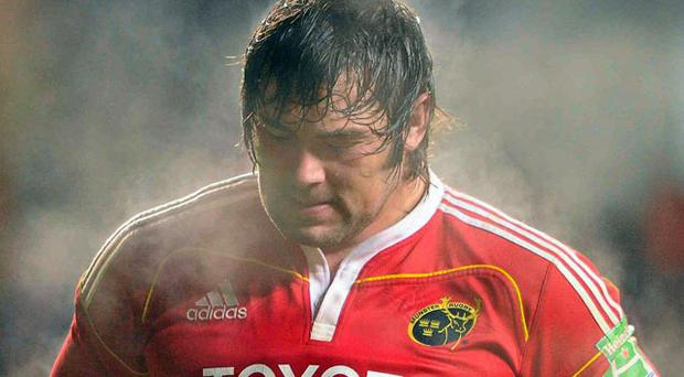 Tony Buckley faces up to the bitter pain of defeat following Munster's setback in Swansea.