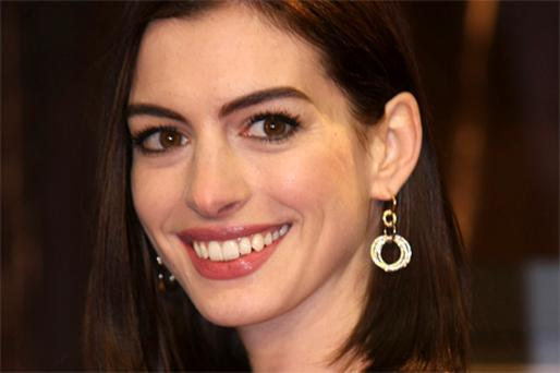 ROYAL TURN: From Disney princess to portraying Kate Middleton in a comedy, Anne Hathaway is the new queen of Hollywood. Photo: Reuters