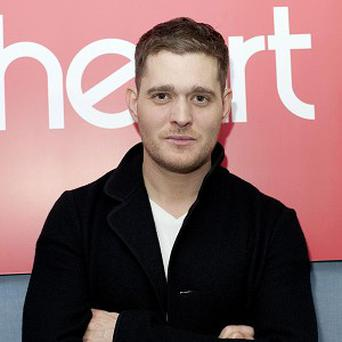 Michael Buble is nervous about his wedding day
