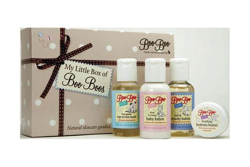 For the tiny members of the family, this Little Box of Boo Boos is a lovely little gift. €19.99, from pharmacies nationwide. For stockists call 01-293 8831