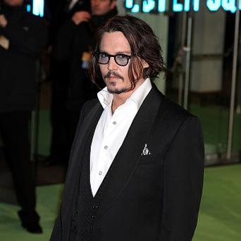 Johnny Depp would like to play Hamlet on stage