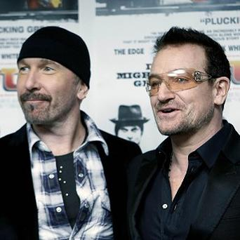 U2's Bono and The Edge have written the musical's score