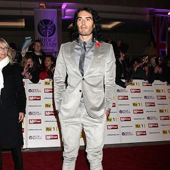 Russell Brand would love to play a superhero