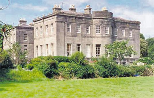 The historic Lissadell House, which its owners restored to its former glory