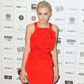 Carey Mulligan keeps her awards at her parents' house
