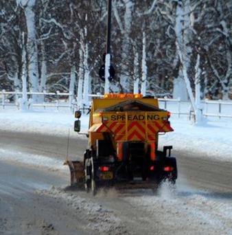 The Bishop of Lincoln has blessed a fleet of council gritters in a bid to cut road crashes in the extreme wintry weather