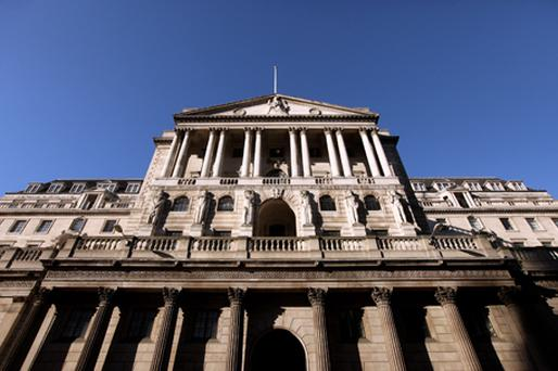 Bank of England policy makers remain divided over the need to curb inflation or increase bond purchases to counteract the effect on the economy of the UK government's fiscal squeeze. Photo: Getty Images