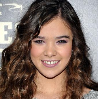 Hailee Steinfeld makes her big screen debut in the True Grit remake