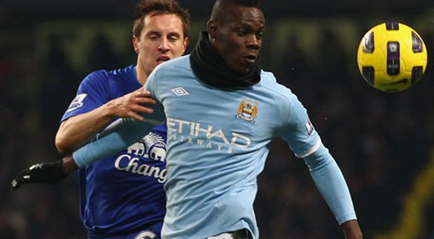 Simply the best? Mario Balotelli insists he is better than previous winners of the Golden Boy award, including Cesc Fabregas and Wayne Rooney. Photo: Getty Images