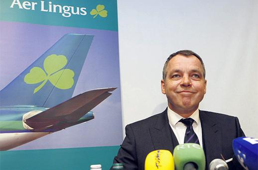 Aer Lingus chief executive Christoph Mueller