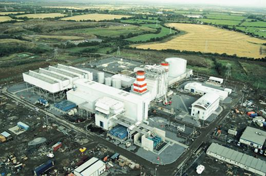 The Huntstown power station in north Co Dublin, which was developed by Viridian. Its Northern Ireland-based power generator NIE has been acquired by the ESB in a €1.2bn deal