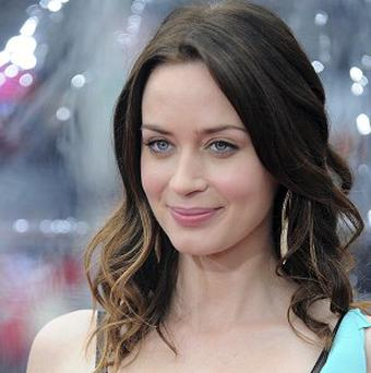 Emily Blunt found working with a green screen tough