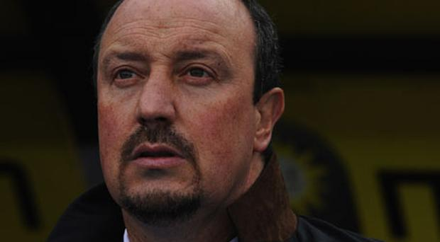 Inter manager Rafa Benitez. Photo: Getty Images