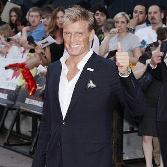 Dolph Lundgren's latest film set has been hit with an explosion