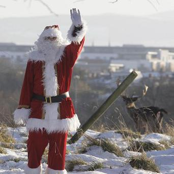 Santa's movements on Christmas Eve will be tracked by the North American Aerospace Defence Command