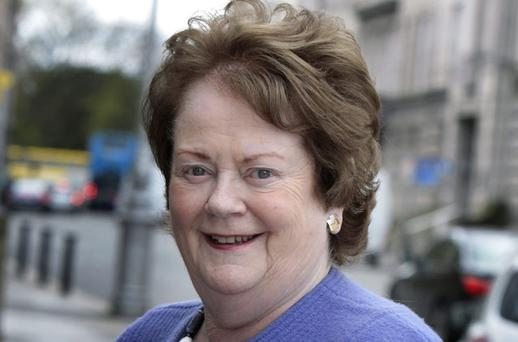 Mary O'Rourke: has decided to contest her ninth general election
